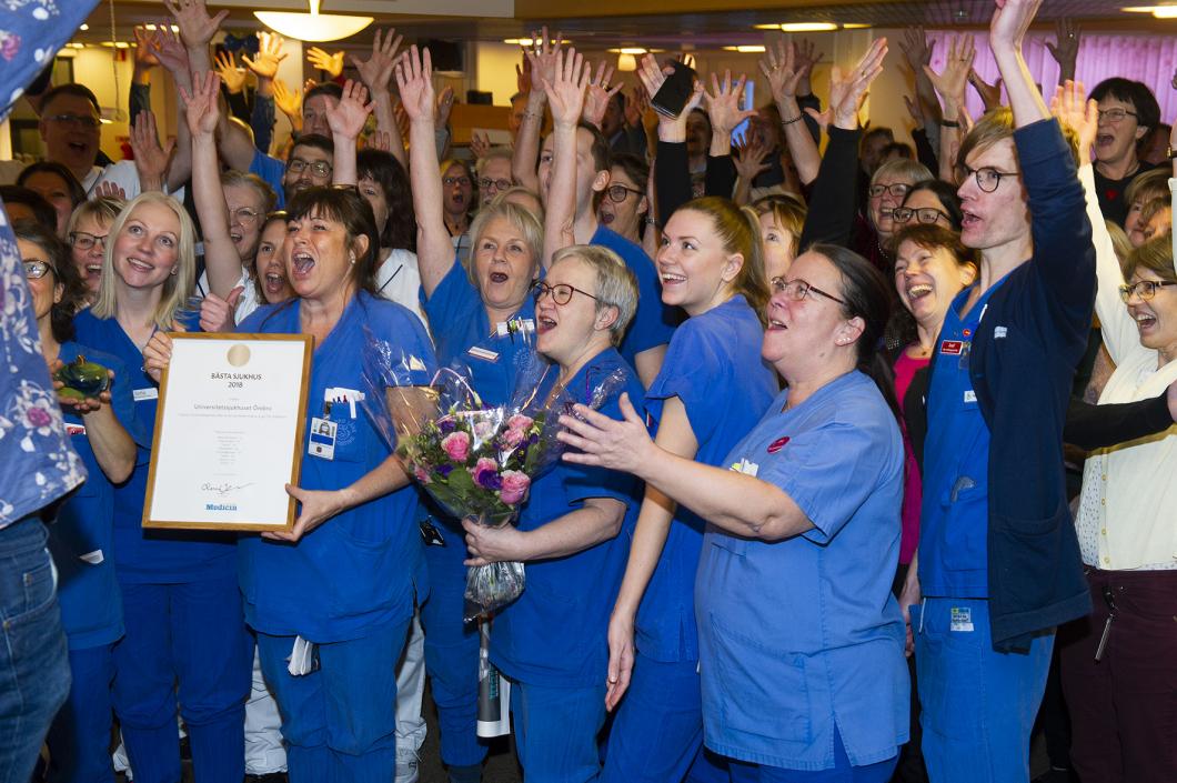 Örebro rankat som bästa universitetssjukhus