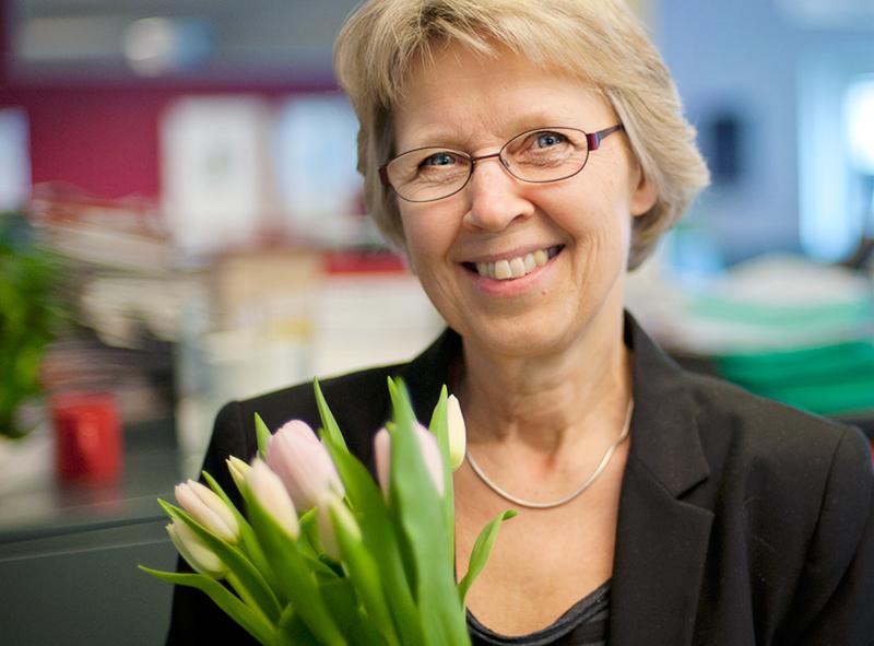 Ulla Frisk Årets omvårdnadsledare
