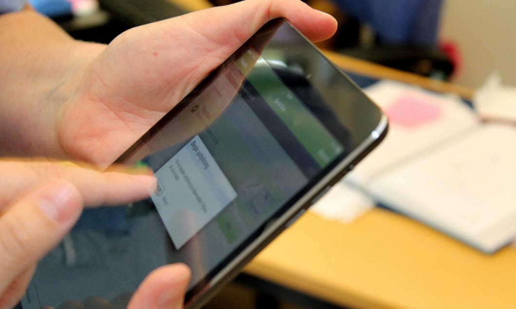 Signering i app har minskat läkemedelsfelen