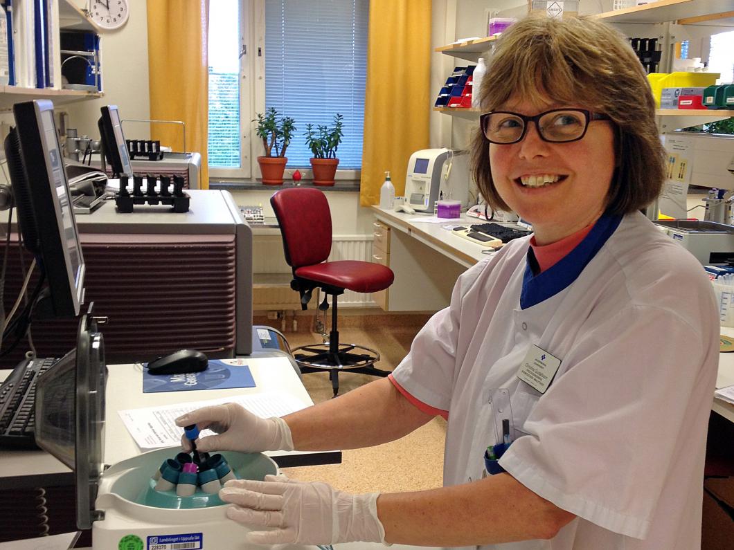Snabbspår på labbet räddar liv