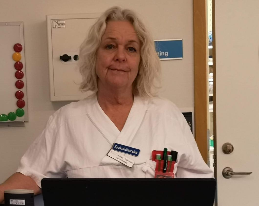 """Sjuksköterskan Annika: """"Det känns som ett slag i ansiktet"""""""