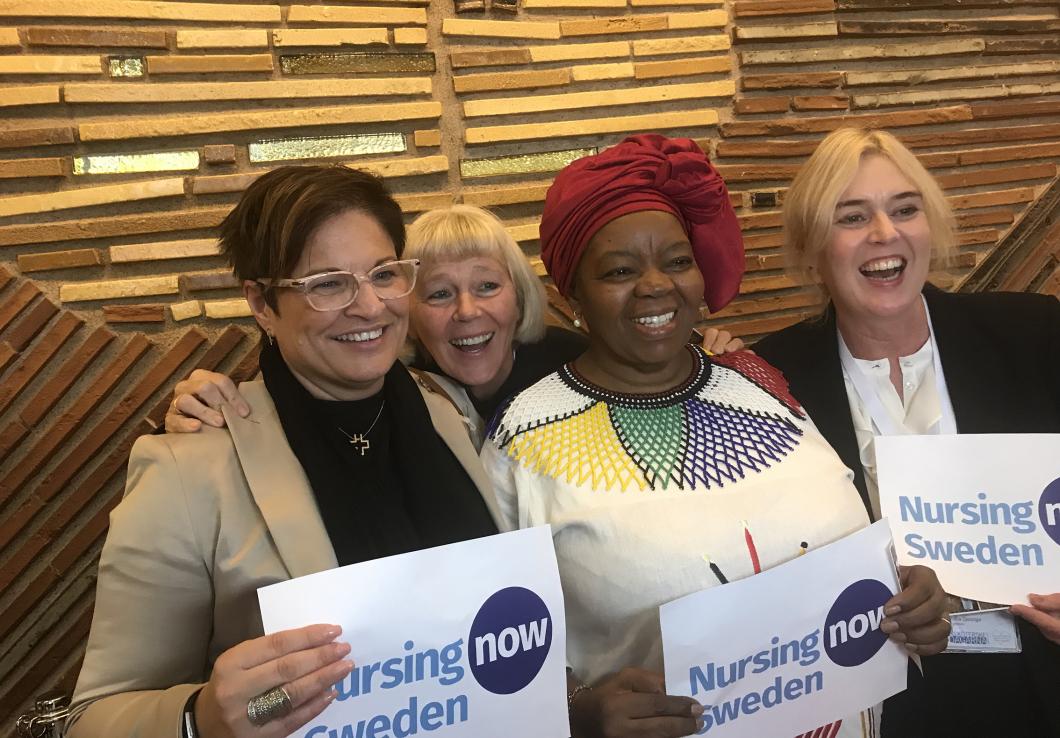 Global kampanj för att öka sjuksköterskors status
