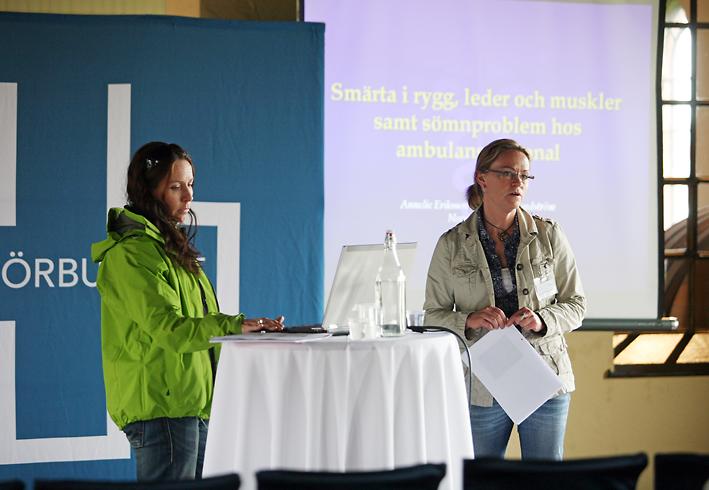 Vårdtåget i Gävle: Smärtproblem vanliga inom ambulansen