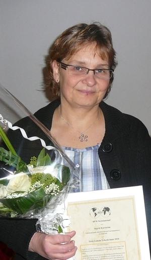 Kristianstad:  Sjuksköterska årets yrkeskvinna