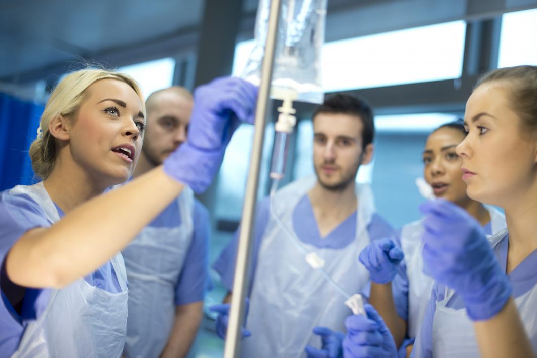 Studenter missar patienters psykosociala behov