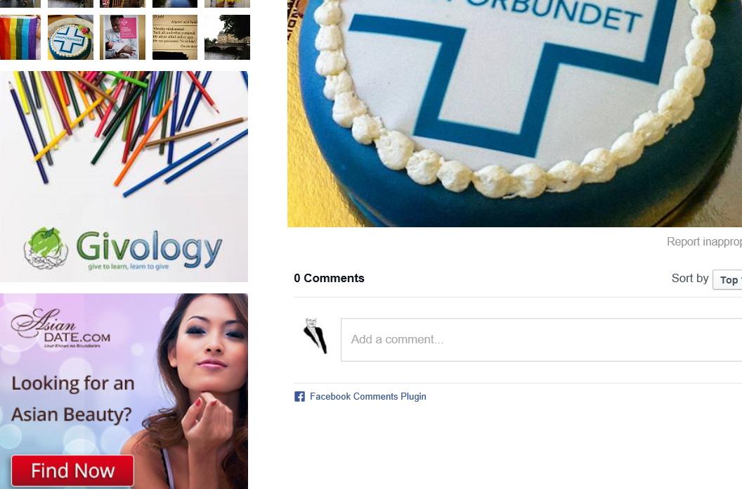 Vårdförbundet bloggsidor reklamplats för skojare