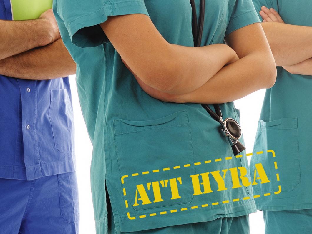Notan för hyrsjuksköterskor allt större