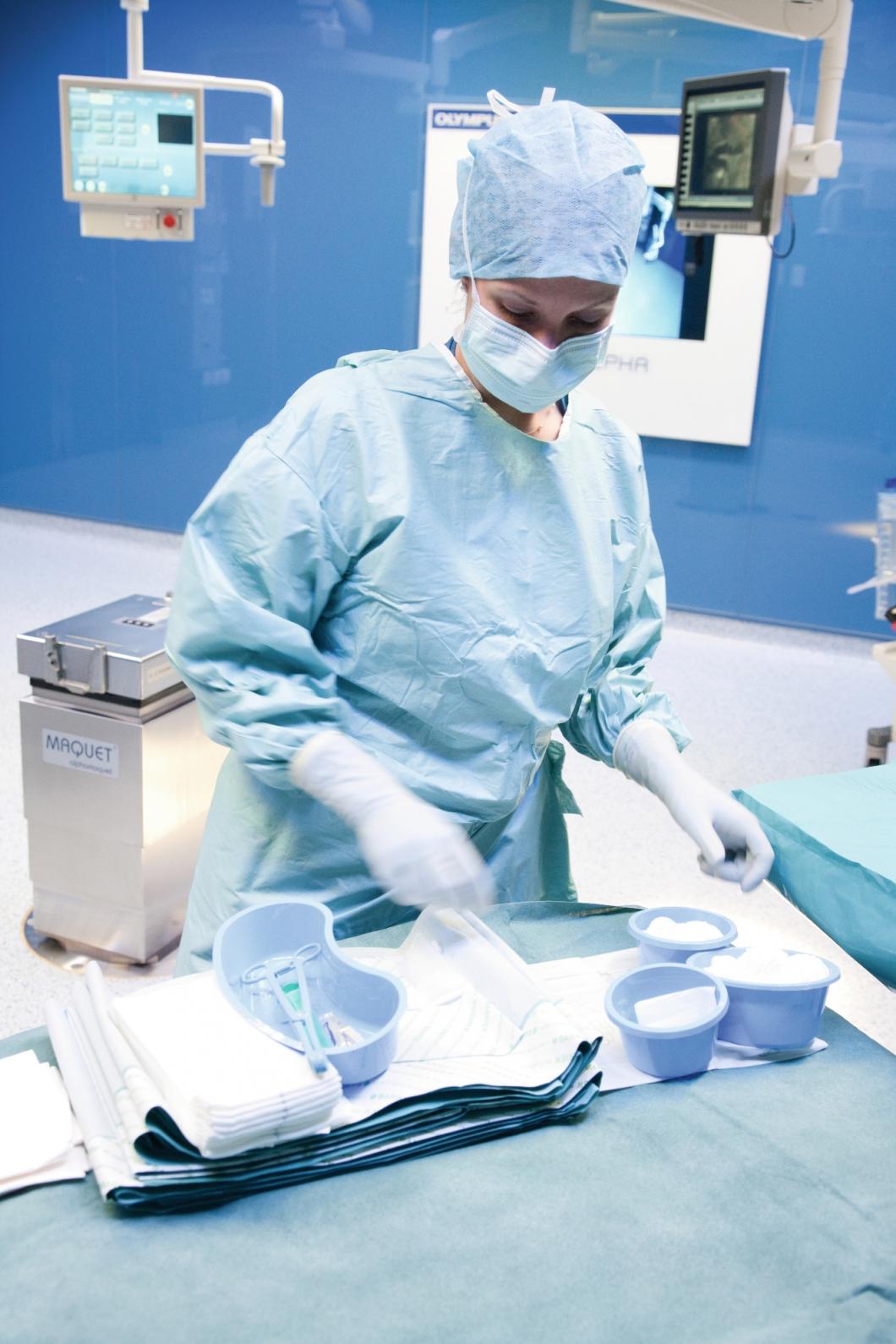 Latexvarning om felmärkta kirurgiska produkter