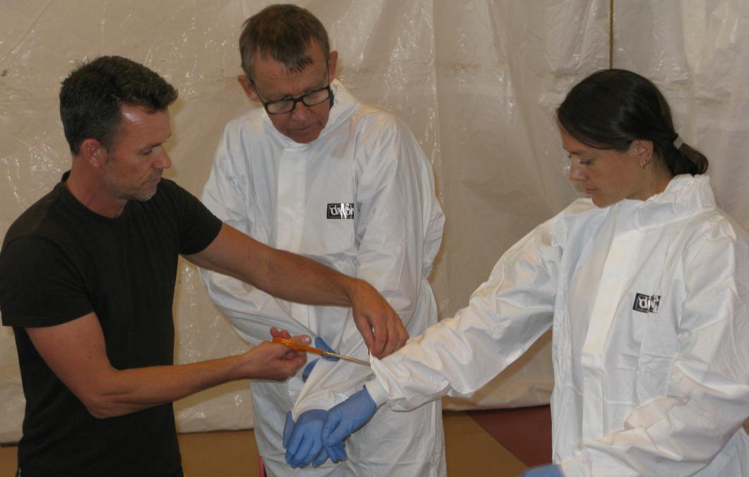 Sveriges ebolainsatser kritiseras