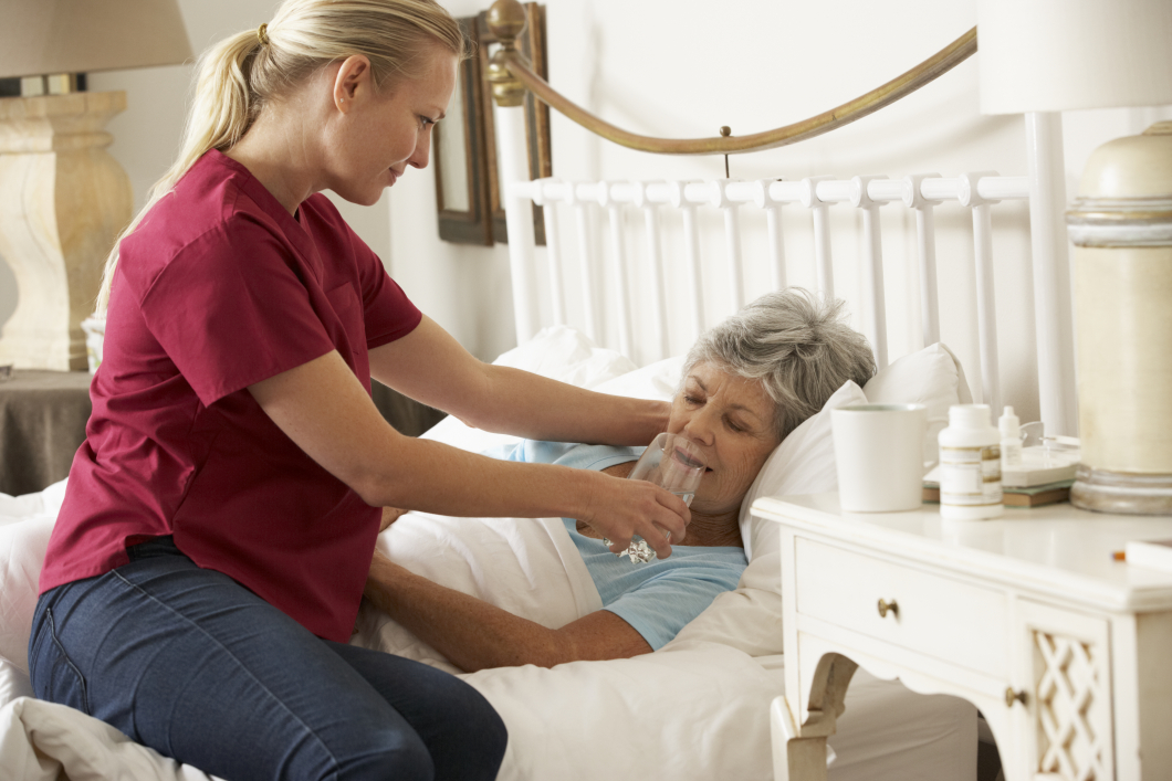 Palliativ vård hemma kostade mindre